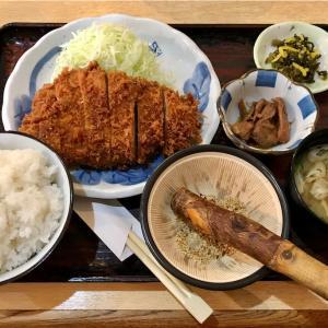 🚩外食日記(303)    宮崎ランチ   「とんかつ囲炉裏」③より、【日替定食】‼️