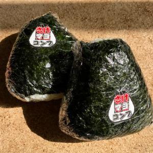 🚩外食日記(340)    宮崎ランチ   🆕「にこにこショップ」より、【さけマヨコンブおにぎり(2個)】‼️