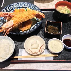 🚩外食日記(351)    宮崎ランチ   「おさかな料理」⑧より、【特大有頭海老フライ(限定)】‼️