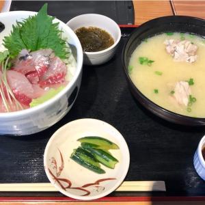 🚩外食日記(458)    宮崎ランチ   「おさかな料理」⑩より、【活あじ丼(限定)】‼️