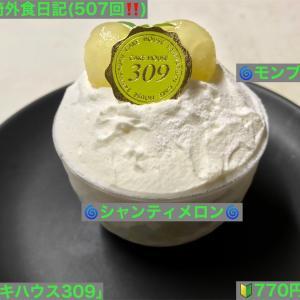 🚩外食日記(507)    宮崎   「ケーキハウス309」③より、【モンブラン】【シャンティメロン】‼️