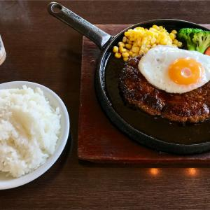 🚩外食日記(771)    宮崎ランチ   「レストラン ラブ」★19より、【ハンバーグステーキ(照焼き)】‼️
