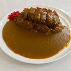 🚩外食日記(811)    宮崎ランチ   「おぐら」⑥より、【カツカレー】‼️