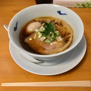 🚩外食日記(832)    宮崎ランチ  🆕 「ちどり食堂」より、【醤油そば(濃口)】【半熟煮玉子】‼️