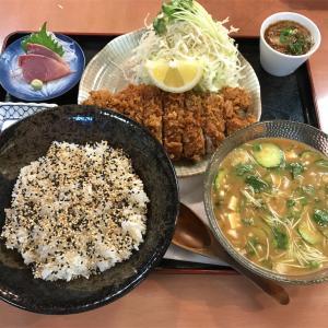 外食日記(21)  ランチ  宮崎   「御食事処   かつれつ軒」