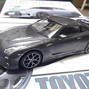 アオシマ 1/32 ザ・スナップキットシリーズ ニッサン GT-Rレビュー