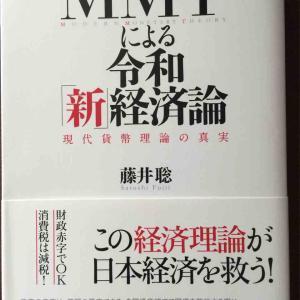 読書感想文82 MMTによる令和新経済論