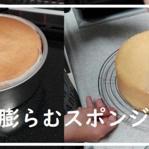 【簡単に膨らむ】子供と一緒に作っても失敗しないスポンジケーキの作り方
