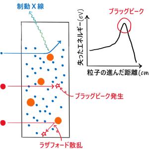 荷電粒子の阻止能について