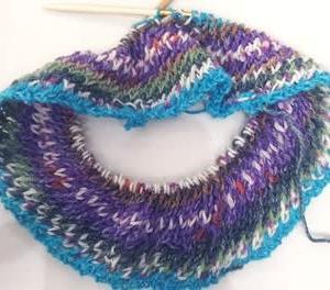 斜めカゴメ編み その後
