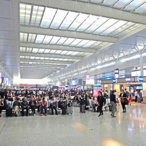 巨大な中国国鉄上海虹橋駅~上海40