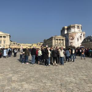 #74 フランス観光2《ベルサイユ宮殿》