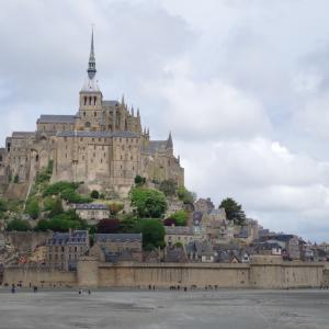 #75 フランス観光3《モン・サン・ミッシェル》