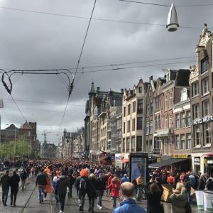 #72 オランダ留学36週目《ついに来たキングスデイ》