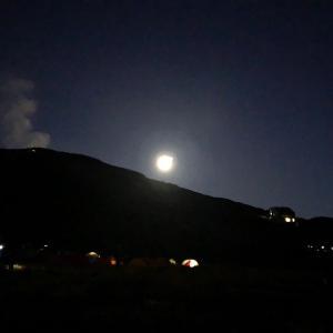 立山 テント泊登山 その3