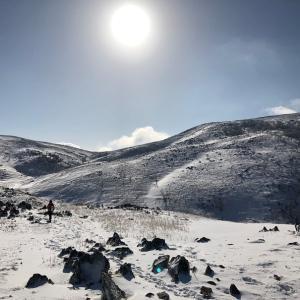 霊仙山 雪原がちょーきもちいー登山
