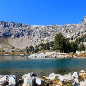 グランドティトンとイエローストーンへの旅行3日目の③ Lake Solitude Trail