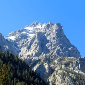 グランドティトンとイエローストーンへの旅行3日目の② Cascade Canyon Trail