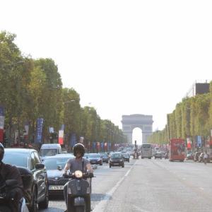 シャモニー旅行7日目 移動とちょっとだけパリ観光