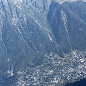 シャモニー旅行  <シャモニーの街>(Chamonix)