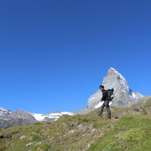 シャモニー旅行6日目① 再びツェルマットへ(Zermatt again)