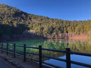 エコパ伊奈ヶ湖で落ち葉拾い、そして…。