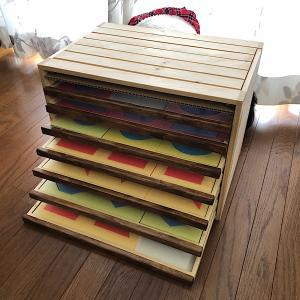 DIY作品⑬-2 モンテッソーリ教具「幾何タンス」のタンス部分を余った2×4材でつくる。