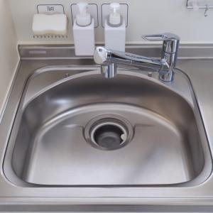 ガンコな水垢が簡単に落ちる!シンク掃除の方法