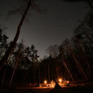 【軍幕好きなヲッサンたちの、可笑しな夕べ  〜でもブッシュクラフトは本気です!キャンプ〜】
