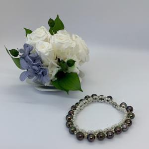 あこや真珠で制作した新作ブレスレットの紹介です!