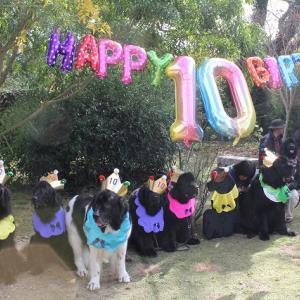 10歳合同誕生日パーティー