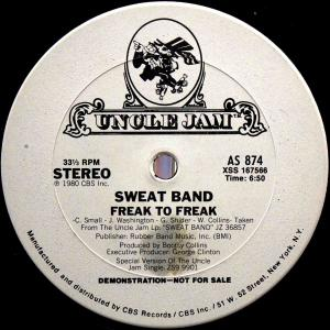 Sweat Band / Freak To Freak (US Promo 12`Special Disco Version) 80