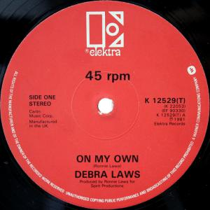 Debra Laws / On My Own (UK 12`Special Disco Version) 81