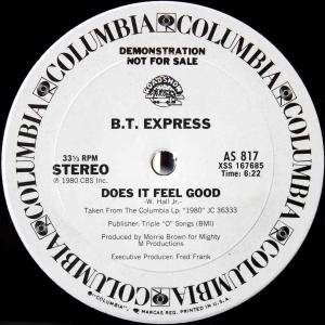 B.T. Express / Does It Feel Good (US Promo 12`Special Long Version) 80