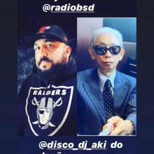 ご試聴ありがとうございます DJ AKI Radioshow / on Radio Bsd (Sao Paulo Brazil)