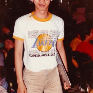DJ AKI at Disco Superstation (Kobe) 1980