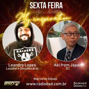 DJ Leandro Presents「DJ AKI Radioshow on Radio Bsd (Sao Paulo Brazil) September