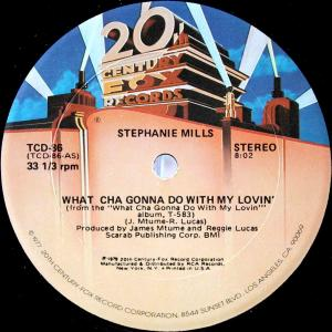 Stephanie Mills / What Cha Gonna Do With My Lovin' (US 12`Special Long Version) 79