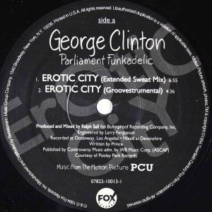 George Clinton / Erotic City (US 12`Extended Sweat Mix) 94