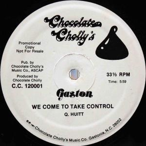 Gaston / We Come To Take Control (US Promo 12`Special Long Version) 82