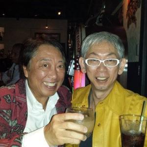 """師匠""""DJ Hisashi Jack Wajima氏""""  (1929 The DJ's Bar)"""