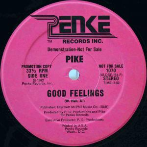 Pike / Good Feelings (US Promo 12`Special Long Version) 82