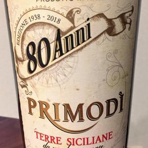 [赤 イタリア] しっかり重口なのに飲みやすい 80 Anni Primodi Appassite 2017@酒のやまや