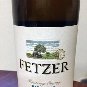 [アメリカ 白] スッキリ甘口高コスパの白 FETZER Monterey County Riesling 2014@酒のやまや