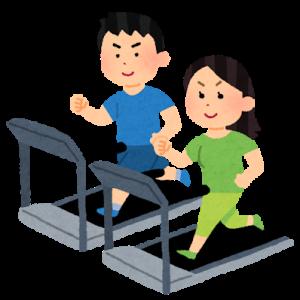 運動と食事。