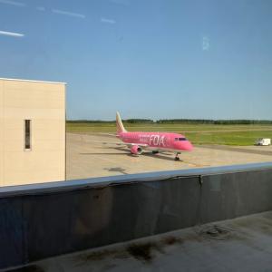 帯広空港へ