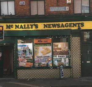 アイルランドのレトロな店構え