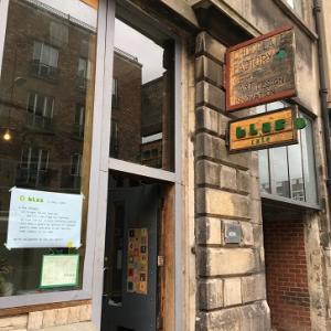 久しぶりの散髪と久しぶりの Blas Cafe