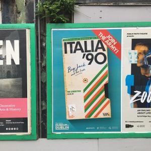 イタリア '90 展 - リトル・ミュージアム・オブ・ダブリン