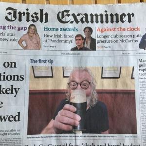アイルランドのパブが約 6 か月ぶりに営業再開 (ただしダブリンは除く)